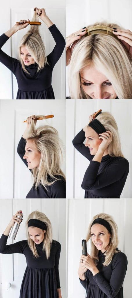 Mod de realizare a coafurii a la Brigitte Bardot, Foto: abeautifulmess.com