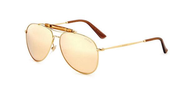 Ochelari tip aviator marca Gucci, Foto: intrnd.ro