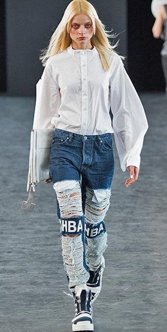 Blugi în tendințele modei din acest an