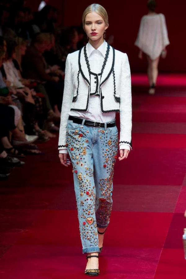 Colecția Dolce&Gabbana din anul 2015, Foto: lipsinrouge.wordpress.com