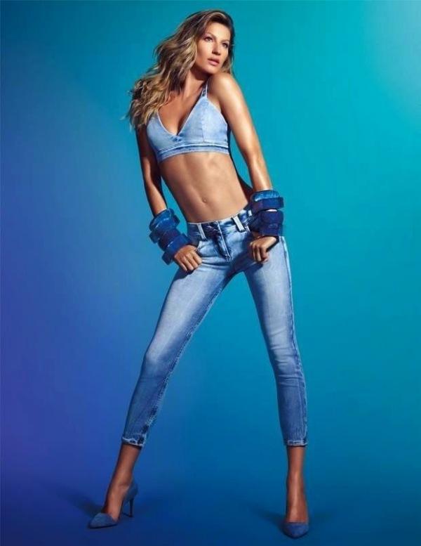 Moda la Gisele Bundchen, Foto: fashion-models.gr