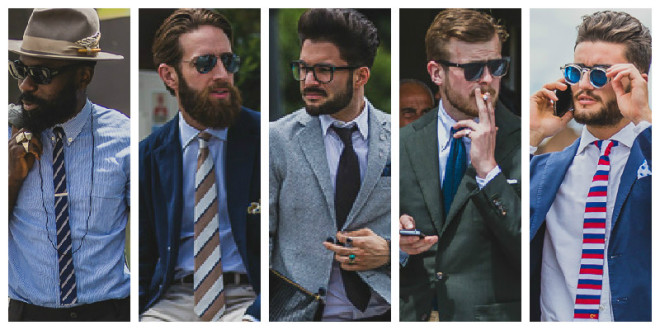 Cravete elegante la costum, Foto: thetrendspotter.net