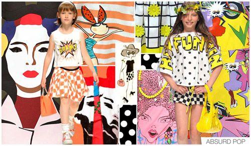 Imprimeuri vesele pentru îmbrăcămintea pentru copii, Foto: fashion-kid.net
