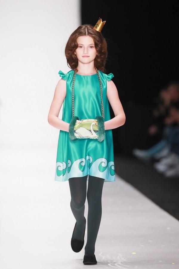 Rochiță elegantă pentru fetițe, Foto: thebestfashionblog.com