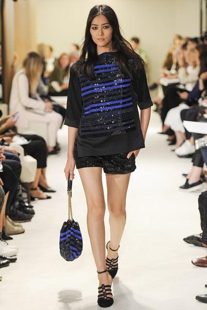 Bluză chic în dungi, Foto: globefashionrunway.com