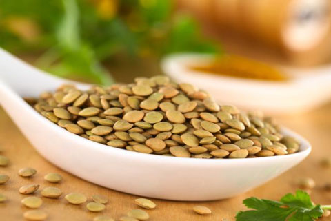 Lintea, un aliment bogat în acid folic și antioxidanți, Foto: vkysnoemenu.com