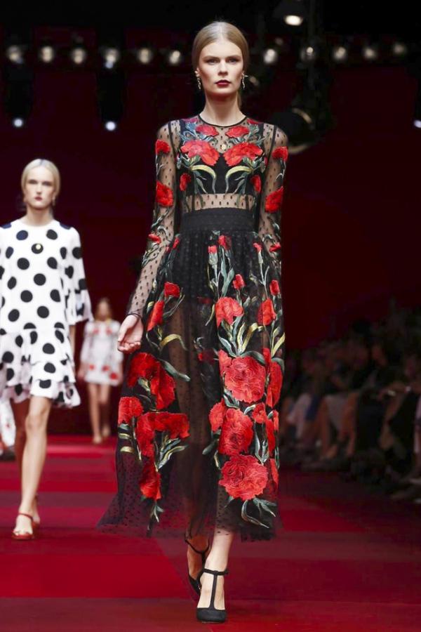 Moda Dolce&Gabbana, Foto: fustany.com
