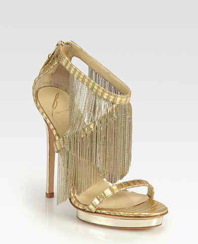 Sandale elegante cu franjuri pentru mireasă, Foto: etv3.net