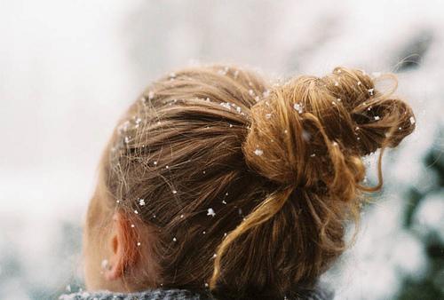 Coafură cu părul prins în coc, Foto: rebloggy.com