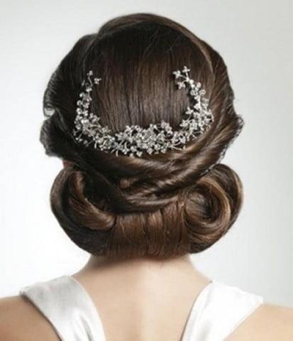 Coroniță în păr, Foto: makeupandbeauty.com