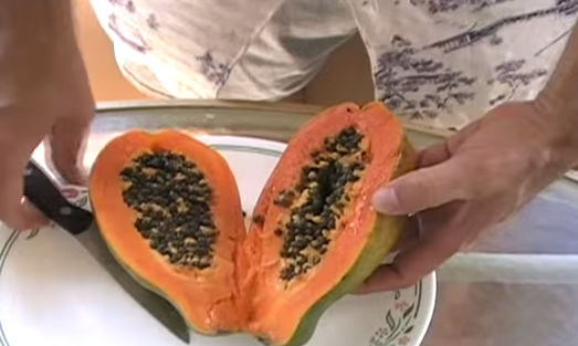 Papaya, fruct tropical