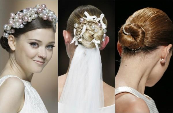 Perlele în păr sunt la modă în acest an, Foto: hola.com