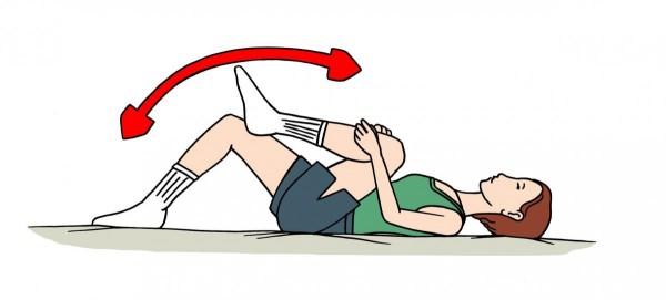 Exercițiu pentru genunchi, Foto: papaa.org