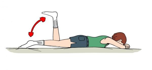 Exercițiu simplu pentru genunchi, Foto: papaa.org