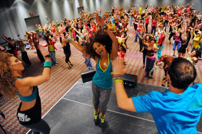 Zumba fitness, Foto: dance2tone.com