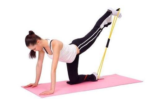 Exercițiu pentru fese și coapse, Foto: vk.com