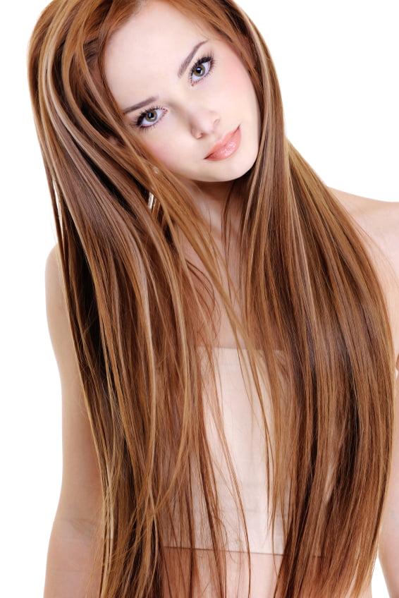 Coafură simplă cu extensii de păr, Foto: hairrocks.com.au