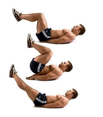 Exercițiu pentru abdomen, Foto: fitness-tng.com