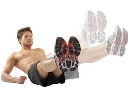 Exercițiu pentru tonifierea zonei abdominale, Foto: appszoom.com