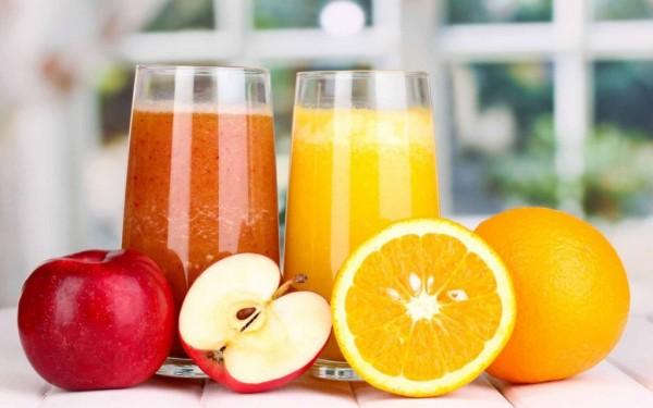 Suc de mere și portocale, Foto: hdnewwallpapers.com