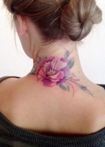 Tatuaj pentru gât, Foto: stylosophy.it
