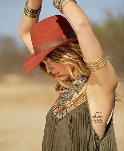 Tatuaj simplu pentru corp, Foto: stylosophy.it