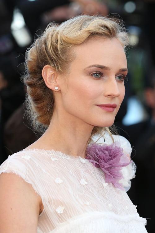 Coafură deosebită la Diane Kruger, Foto: vfsdf.blogspot.ro