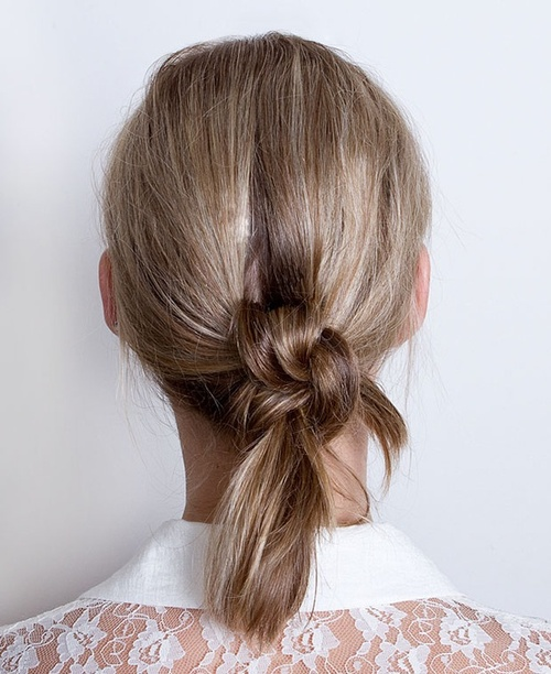 Coafură simplă, Foto: blog.eleanorsnyc.com