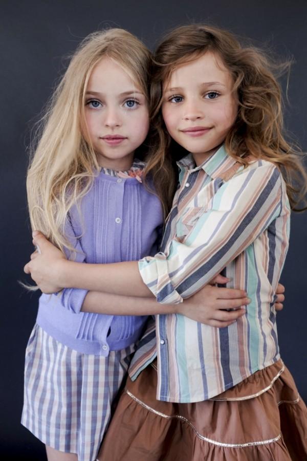 Păr lung ondulat la fetițe, Foto: posterchildmag.com