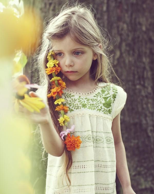 Tunsoare cu flori în păr, Foto: hipkin.com.au