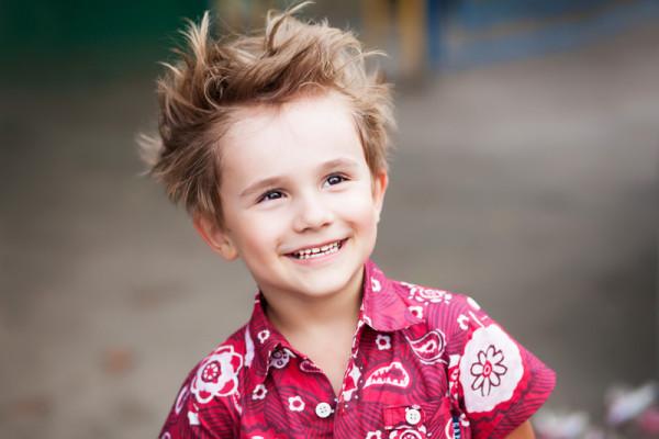 Tunsoare trendy pentru copil, Foto: bessolova.com