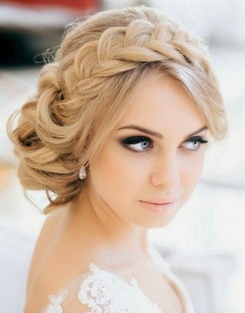 Coafură deosebită pentru mireasă, Foto: fashionqe.com