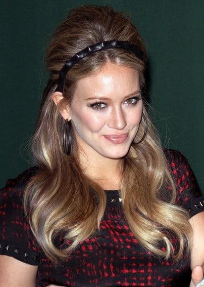 Coafură retro la Hilary Duff, Foto: haircutstyle.net