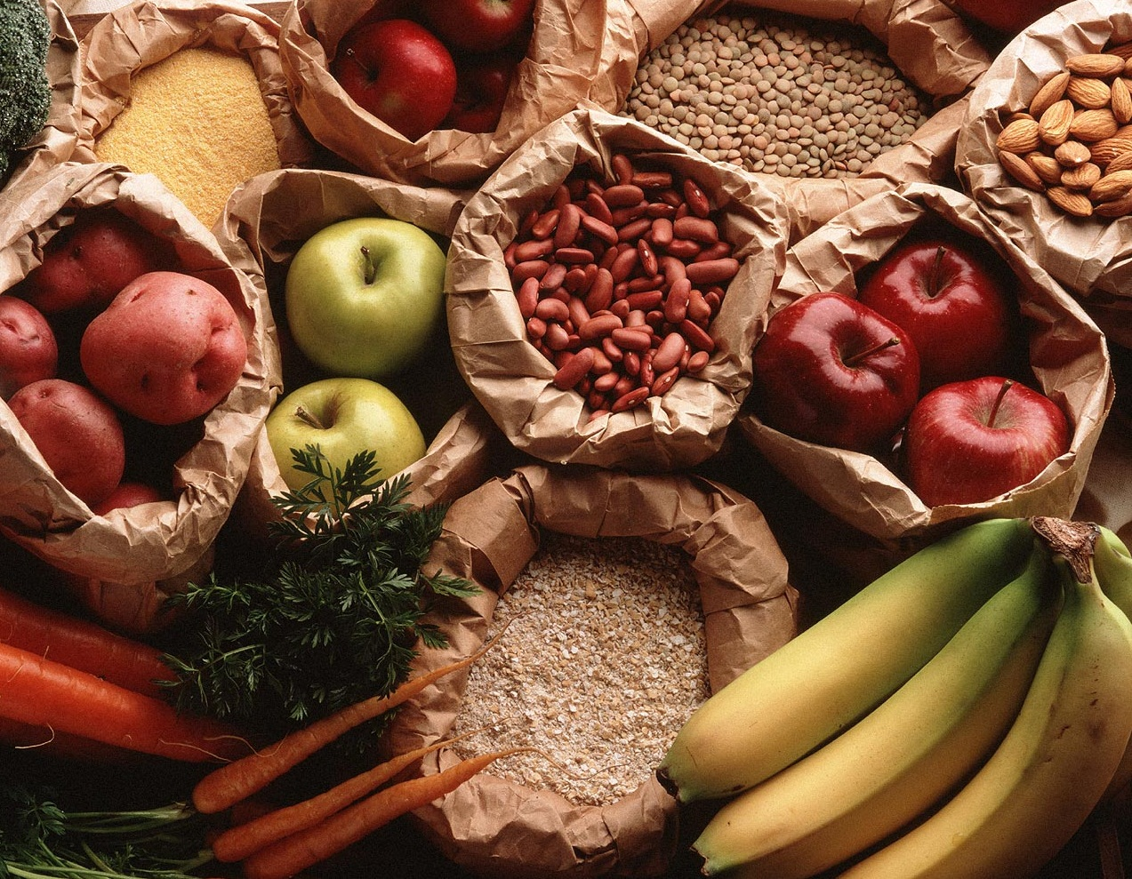 Surse alimentare de fibre, Foto: buffetportella.com