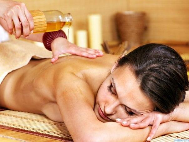Masajul cu uleiuri aromatice, Foto: vk.com