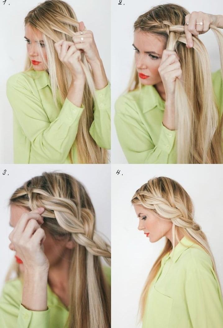Coafură elegantă pentru păr lung, Foto: pophaircuts.com
