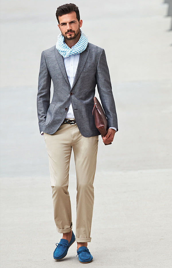Moda casual pentru bărbați, Foto: royrobson.com