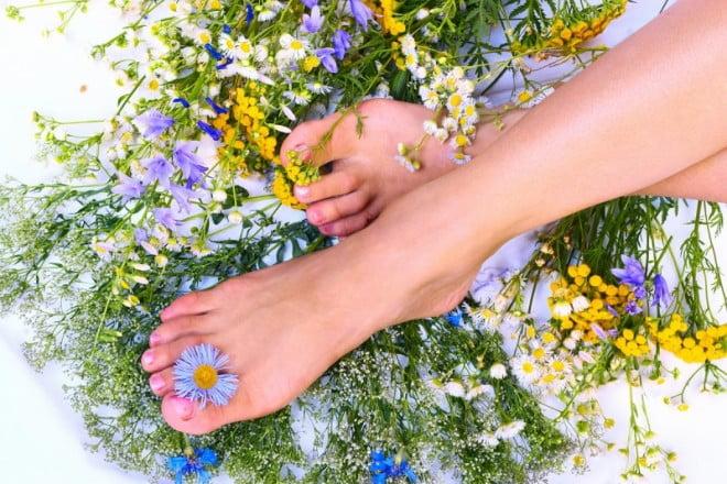 Remedii naturiste cu plante pentru tratamentul deficiențelor de la picioare, Foto: sekret-krasotki.ru