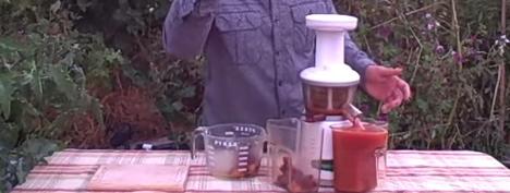 Suc natural din prune proaspete