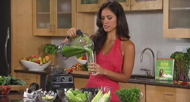 Glowing Green Smoothie - băutura verde bogată în substanțe nutritive