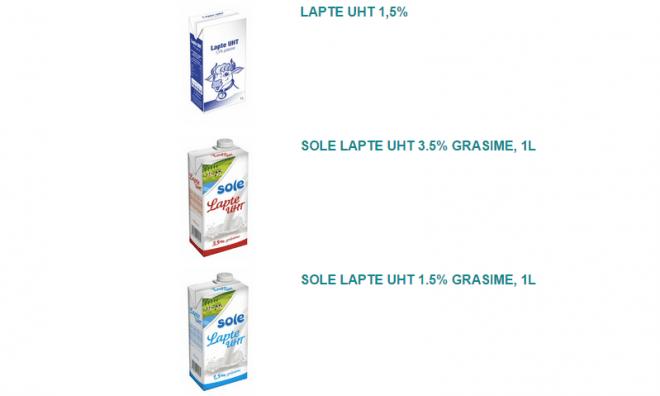 Laptele UHT, Foto: solemizo.ro