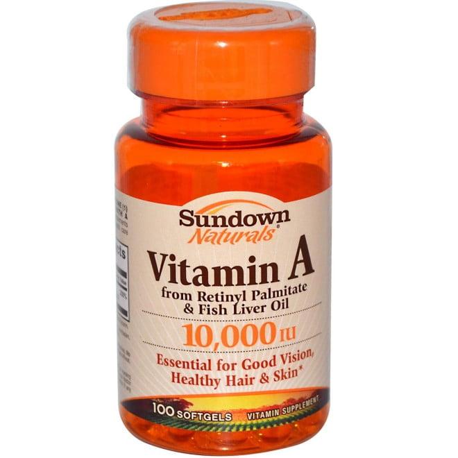 Suplimente de vitamina A, Foto: m.iherb.cn