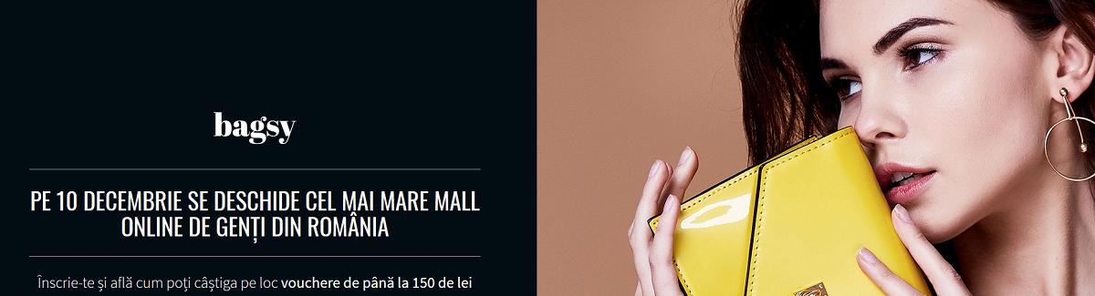 cel mai mare mall online de genti din Romania