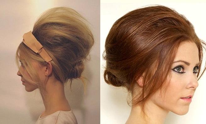 Coafură cu părul în stil retro, Foto: liveinternet.ru