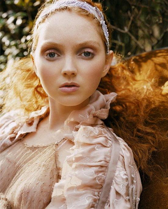 Coafură elegantă cu părul creț, Foto: womenitems.ru