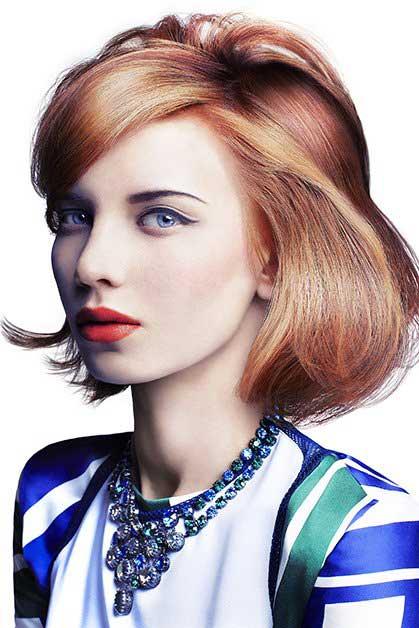 Coafură simplă pentru păr mediu, Foto: doctorvlad.com