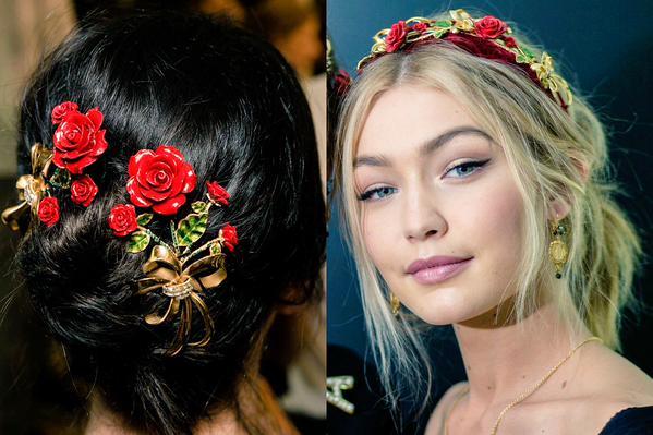 Coafuri cu flori în păr, Foto: scoopnest.com