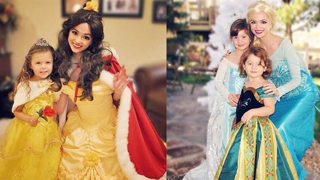 Sarah Ongle - Eroina din basmul Frumoasa și Bestia, Prințesa Elsa din Frozen, Foto: tube.chinatimes.com