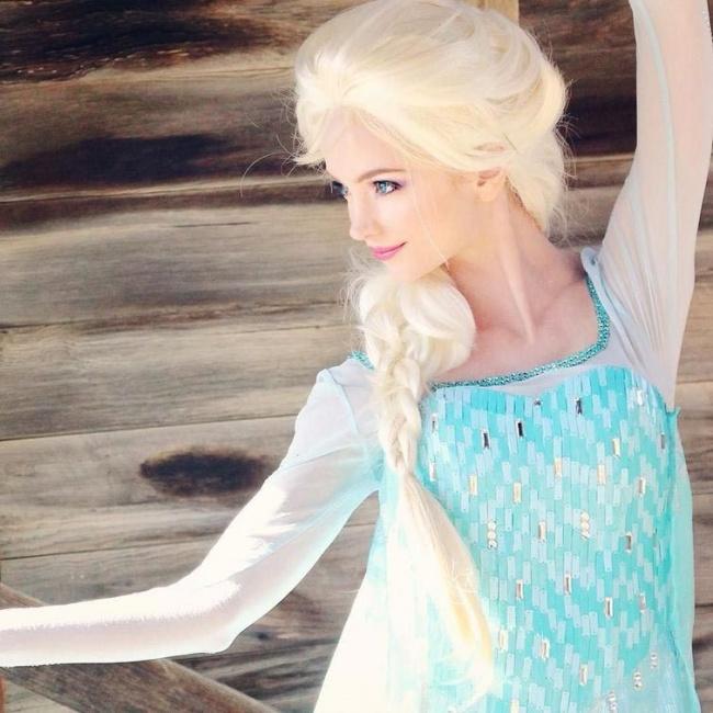 Sarah Ingle - Prințesa Elsa, Foto: ru.hujiang.com
