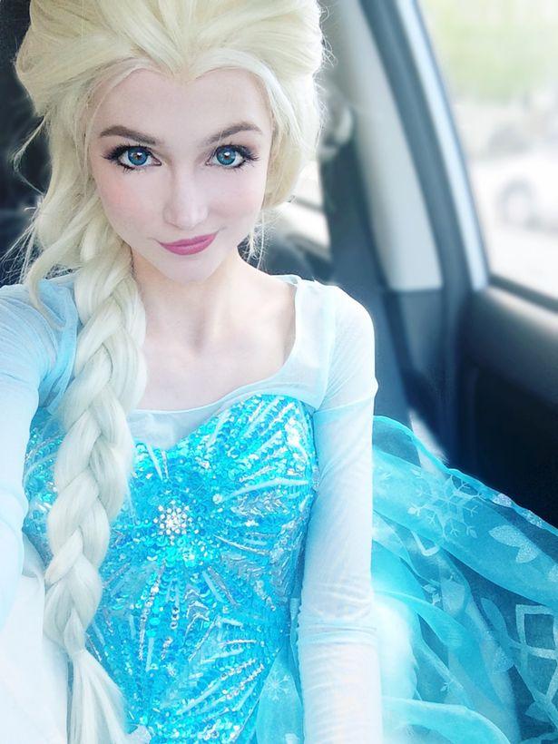 Sarah Ingle - Prințesa Elsa din Regatul de gheață, Foto: irishmirror.ie